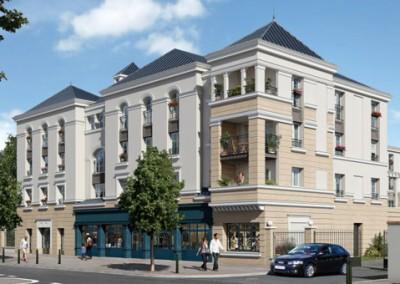 Programme immobilier en nue propriété à Rueil Malmaison (92) - le VI